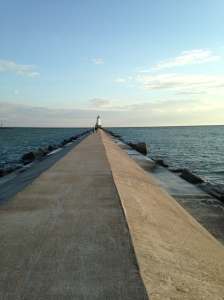 Ludington's North Breakwater Light at Stearns Park
