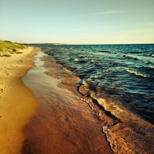 Lake Michigan - Ludington Michigan